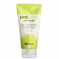 Secret Skin Lime Fizzy Peeling Gel Пилинг-скатка с экстрактом лайма и витамином С