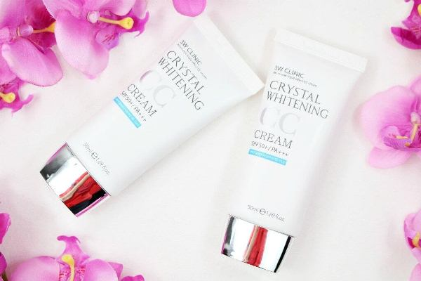 3WClinic Crystal Whitening CC Cream