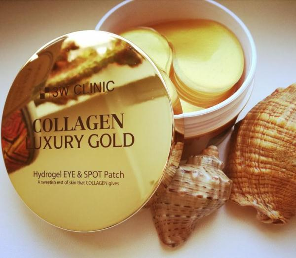 3W CLINIC Collagen Luxury Gold Hydrogel Eye and Spot Patch