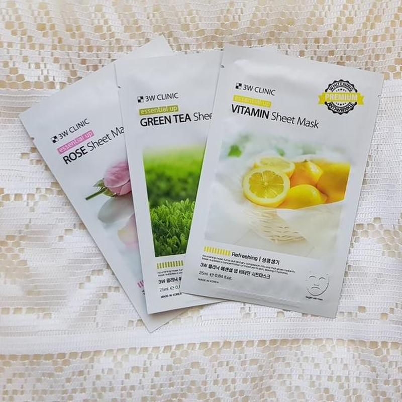 3w Clinic Essential Up Vitamin Sheet Mask