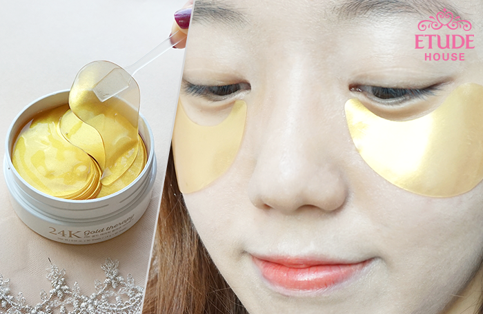 ETUDE HOUSE 24K Gold therapy collagen eye patch