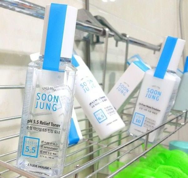 ETUDE HOUSE Soon Jung pH5.5 Relief Toner