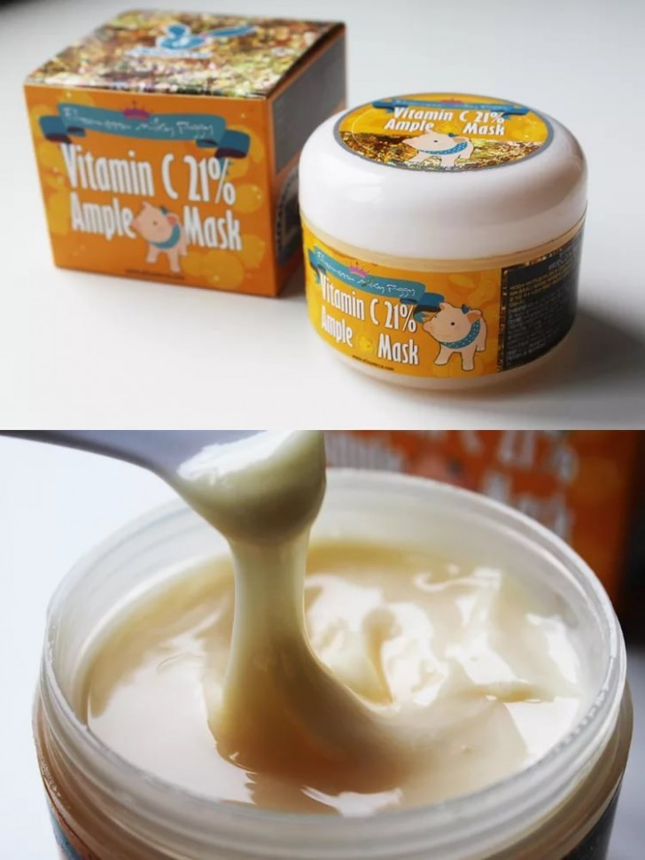 ELIZAVECCA Milky Piggy Vitamin C 21% Ample Mask