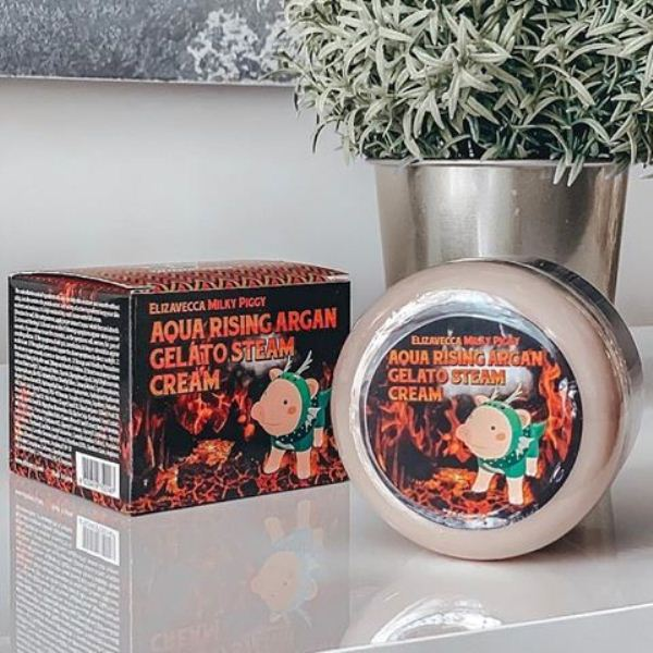 Elizavecca Face Care Aqua Rising Argan Gelato Steam Cream