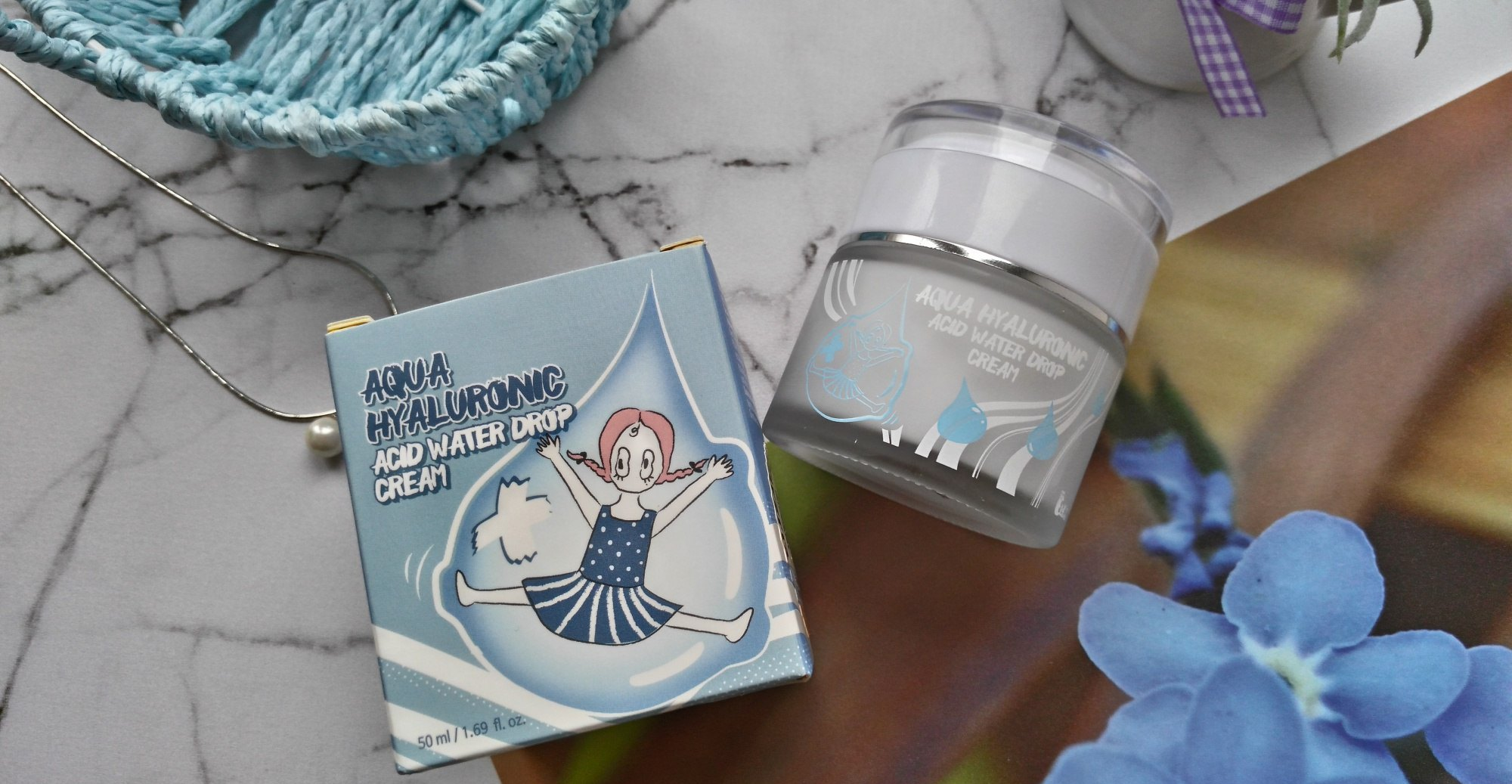 ELIZAVECCA Aqua Hyaluronic Acid Water Drop Cream