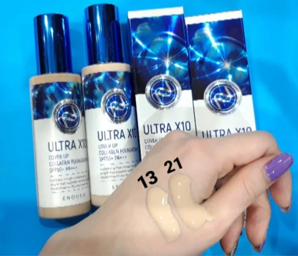 Enough Ultra X10 cover up Collagen foundation