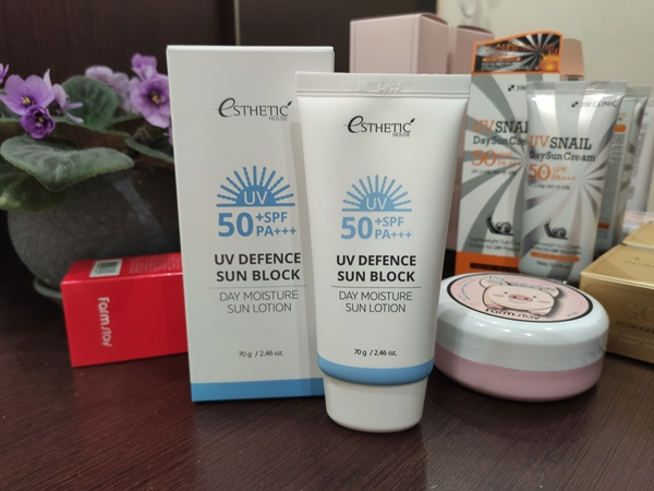 Esthetic House UV Defence Sun Block Day Moisture Sun Lotion SPF 5
