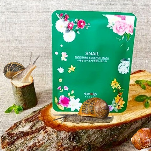 Eyenlip Oil Moisture Essence Mask Snail