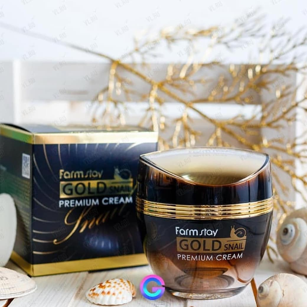 FARMSTAY Gold Snail Premium Cream 1