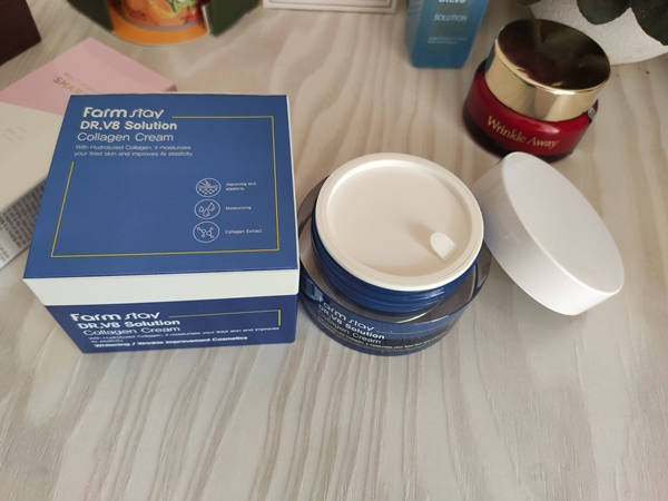 FarmStay DR.V8 Solution Collagen Cream