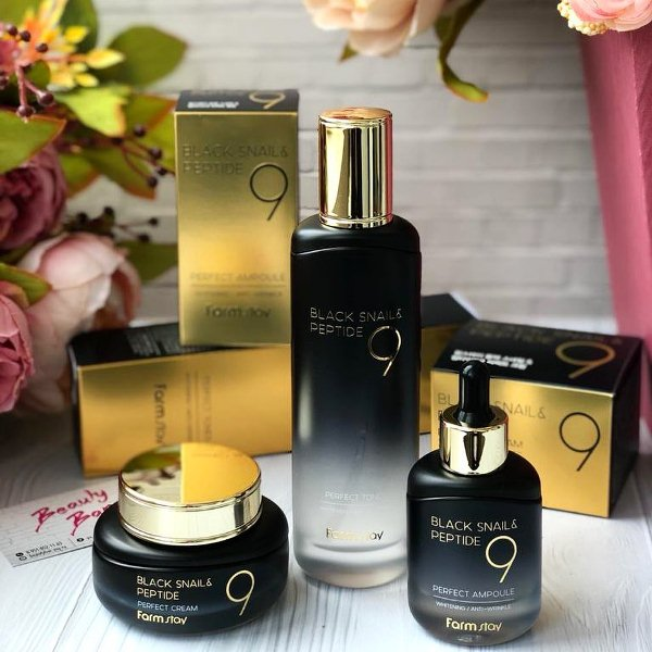 Farmstay Black Snail & Perfect Ampoule