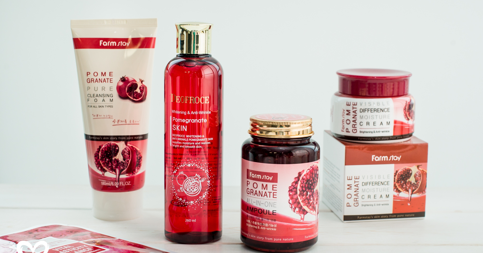 Farmstay Pomegranate Pure Cleansing Foam