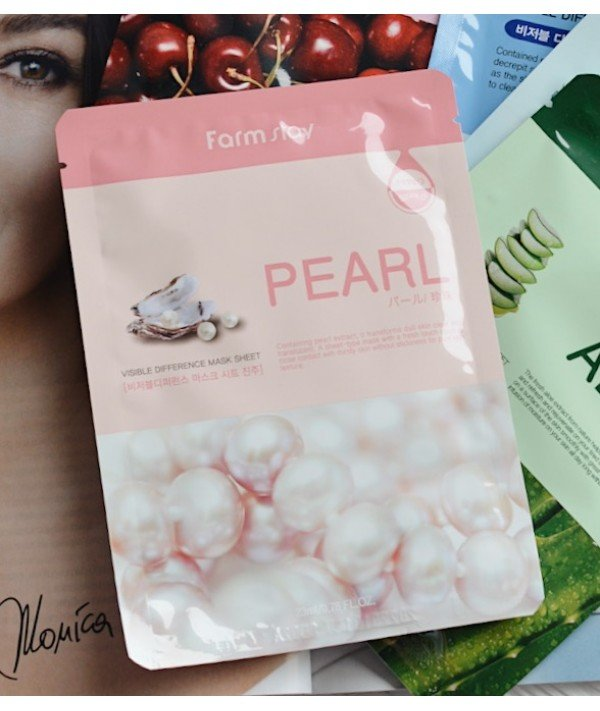 Farmstay Visible Difference Mask Sheet Pearl