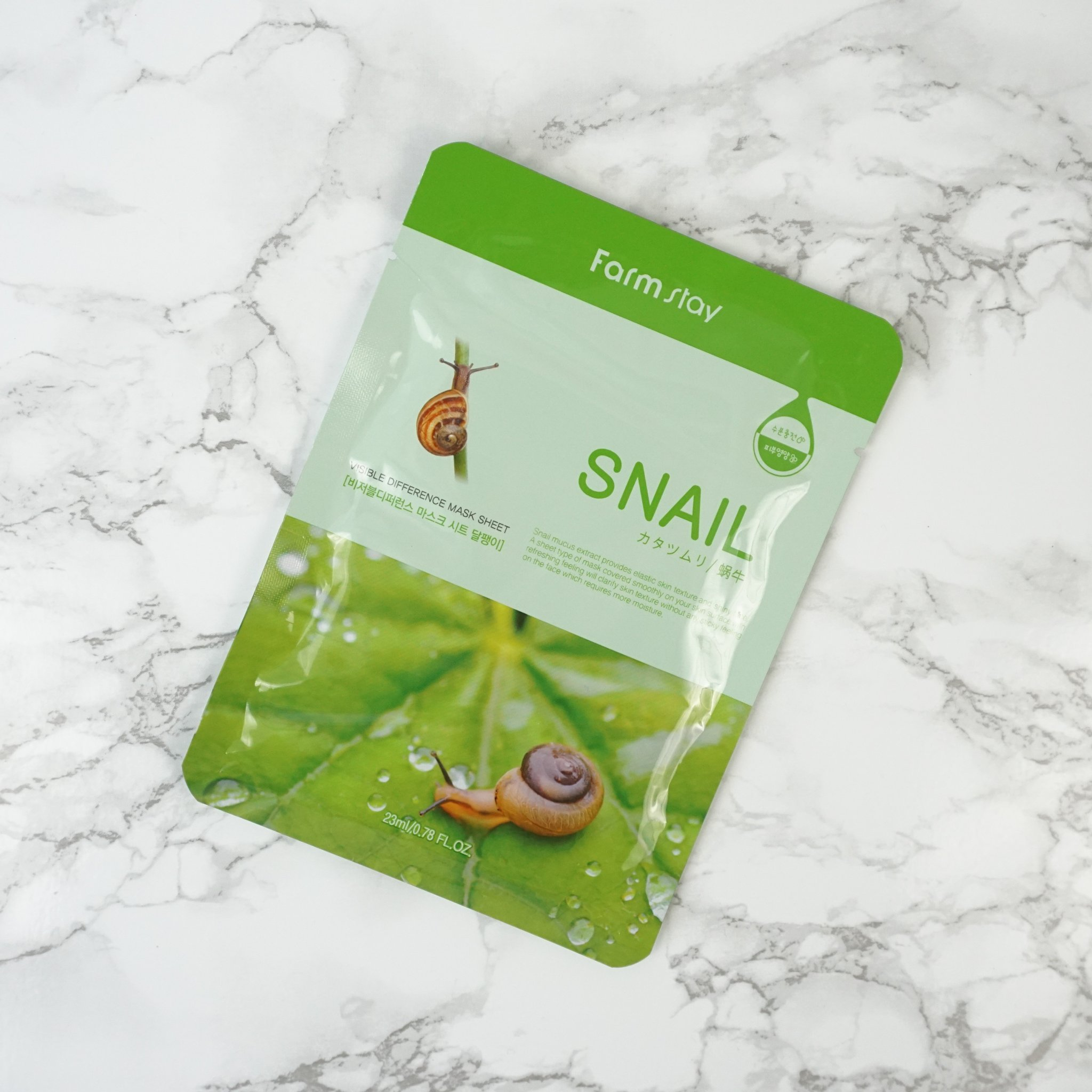 Farmstay Visible Difference Mask Sheet Snail