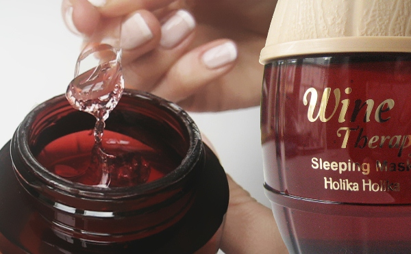 Holika Holika Wine Therapy Sleeping Mask Pack