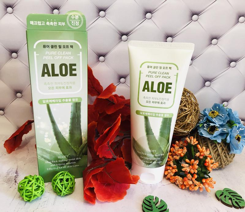Jigott Aloe Pure Clean Peel Off Pack