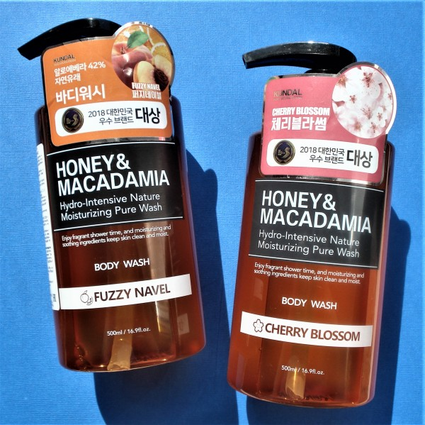 KUNDAL Honey & Macadamia Body Wash Cherry Blossom
