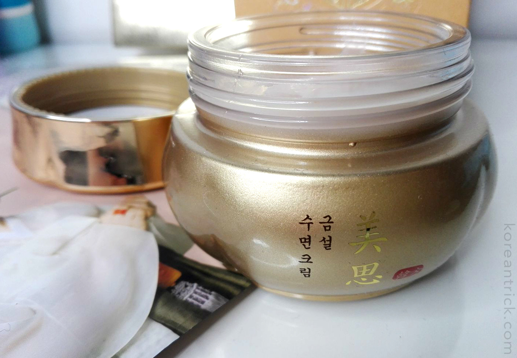 MISSHA Geum Seol Sleeping Cream