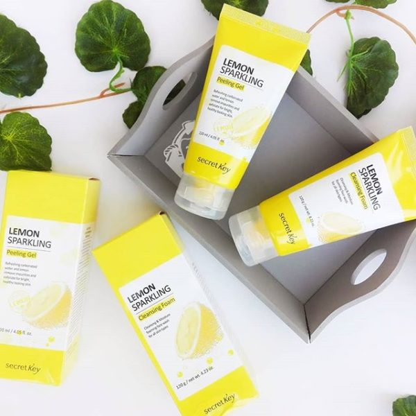 Secret Key Lemon Sparkling Cleansing Foam