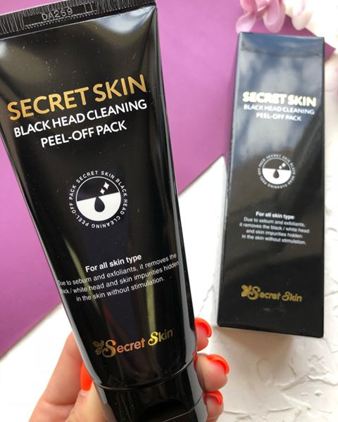 Secret Skin Black Head Cleaning Peel-Off Pack
