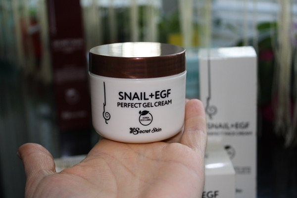 Secret Skin Snail + EGF Perfect Gel Cream