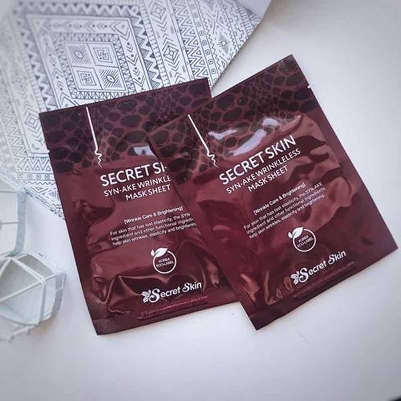 Secret Skin Syn-Ake Wrinkless Mask Sheet