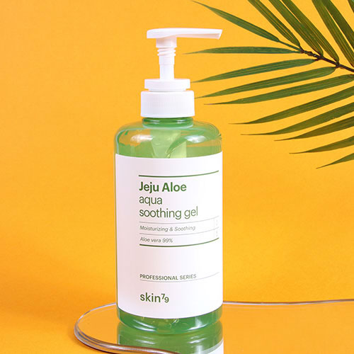 Skin79 Jeju Aloe Aqua Soothing Gel (Pump)