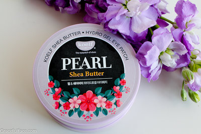 KOELF Pearl & Shea Butter Eye Patch Гидрогелевые патчи для глаз с жемчугом